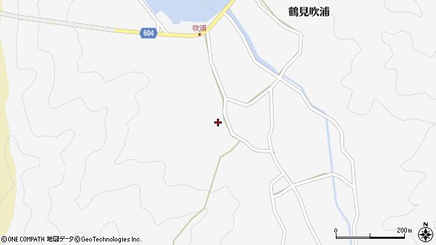 大分県佐伯市鶴見大字吹浦391周辺の地図