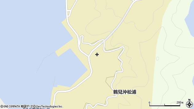 大分県佐伯市鶴見大字沖松浦1135周辺の地図