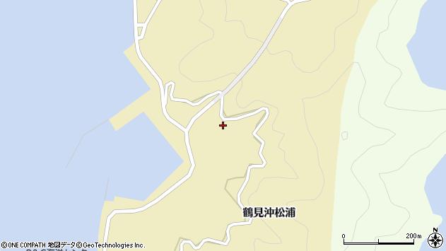 大分県佐伯市鶴見大字沖松浦北ノ浦周辺の地図