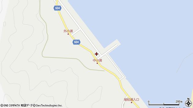 大分県佐伯市鶴見大字地松浦252周辺の地図