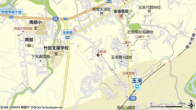 大分県竹田市玉来1160周辺の地図