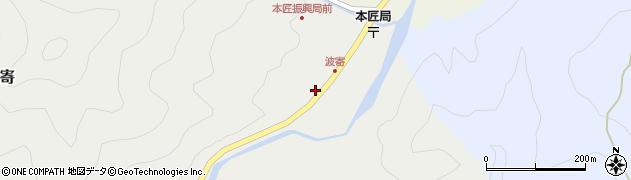 大分県佐伯市本匠大字波寄2732周辺の地図