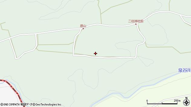 大分県竹田市小塚274周辺の地図