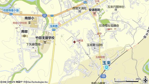 大分県竹田市玉来1162周辺の地図