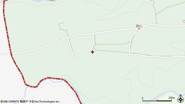 大分県竹田市小塚88周辺の地図