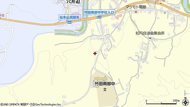 大分県竹田市君ケ園1693周辺の地図