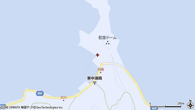 大分県佐伯市鶴見大字丹賀浦577周辺の地図