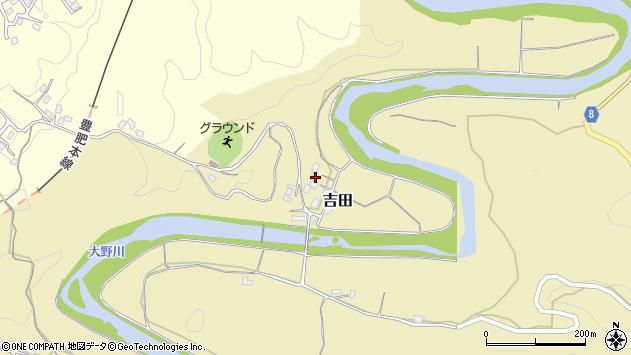 大分県竹田市吉田3007周辺の地図