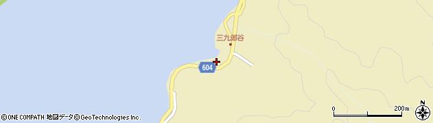 大分県佐伯市9704周辺の地図