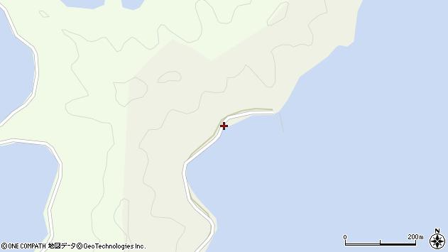 大分県佐伯市鶴見大字羽出浦203周辺の地図