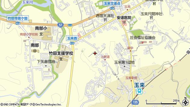 大分県竹田市玉来1131周辺の地図