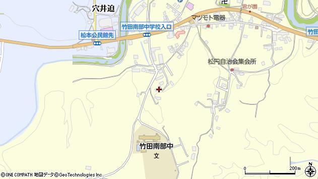 大分県竹田市君ケ園699周辺の地図
