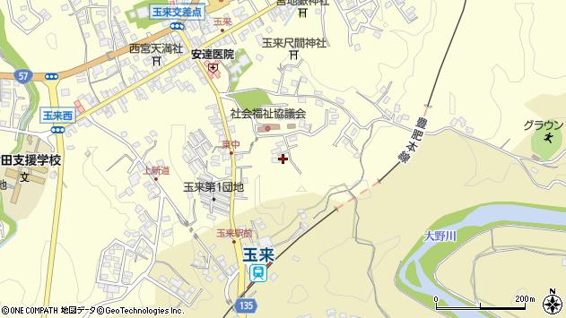 大分県竹田市玉来1289周辺の地図