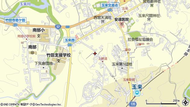 大分県竹田市玉来1134周辺の地図