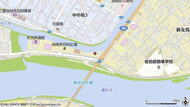 大分県佐伯市6686周辺の地図