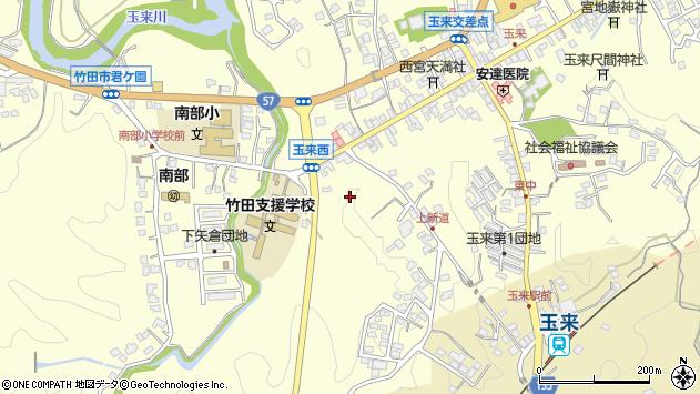 大分県竹田市玉来1130周辺の地図