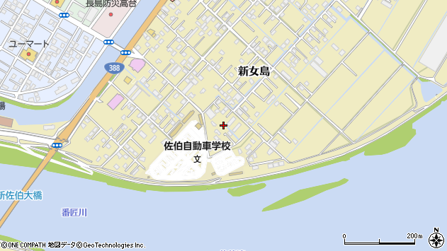 大分県佐伯市7393周辺の地図