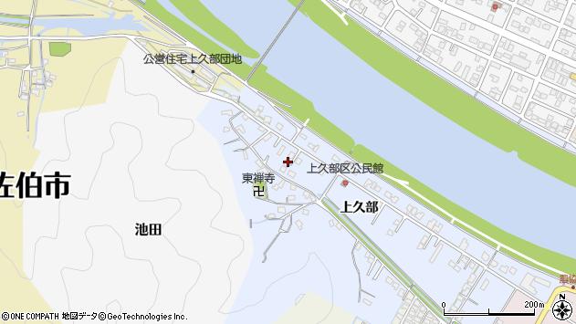 大分県佐伯市池田498周辺の地図