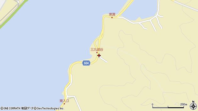 大分県佐伯市9650周辺の地図