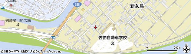 大分県佐伯市6863周辺の地図