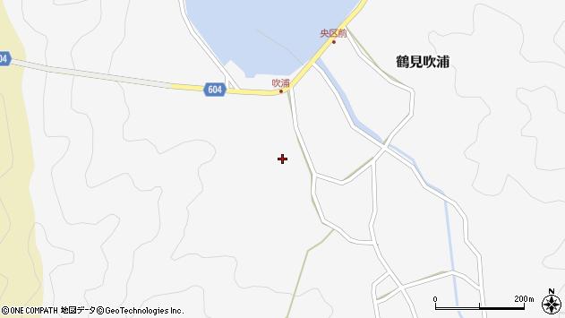 大分県佐伯市鶴見大字吹浦175周辺の地図