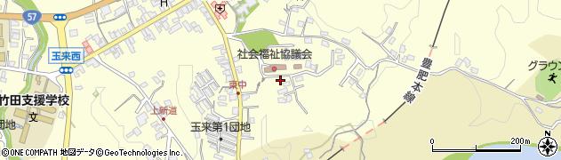 大分県竹田市玉来1302周辺の地図