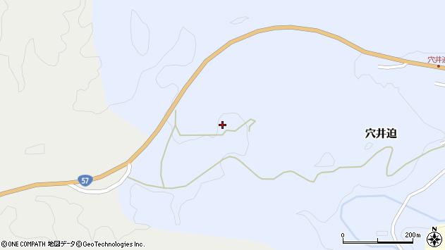 大分県竹田市穴井迫1330周辺の地図