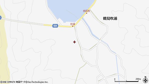 大分県佐伯市鶴見大字吹浦174周辺の地図