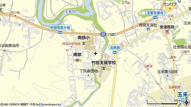 大分県竹田市君ケ園995周辺の地図