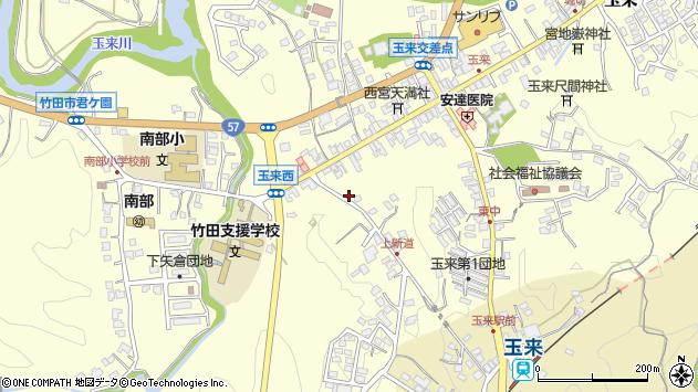 大分県竹田市玉来1139周辺の地図