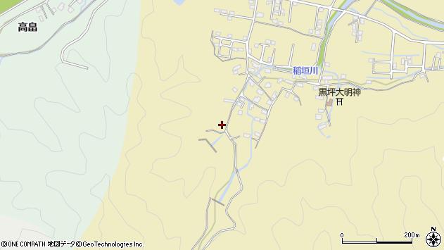 大分県佐伯市稲垣1170周辺の地図