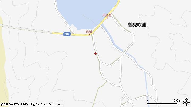 大分県佐伯市鶴見大字吹浦325周辺の地図