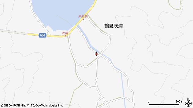 大分県佐伯市鶴見大字吹浦360周辺の地図