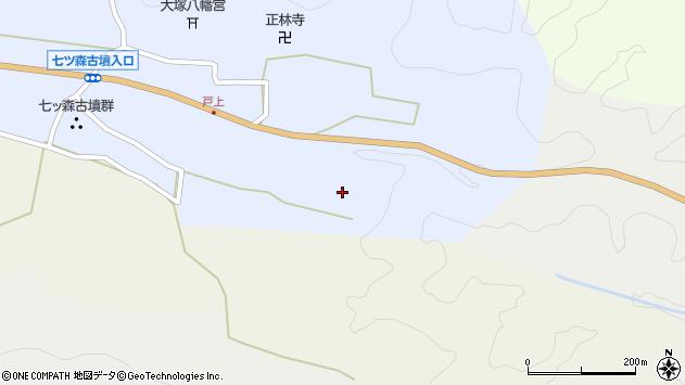 大分県竹田市戸上258周辺の地図