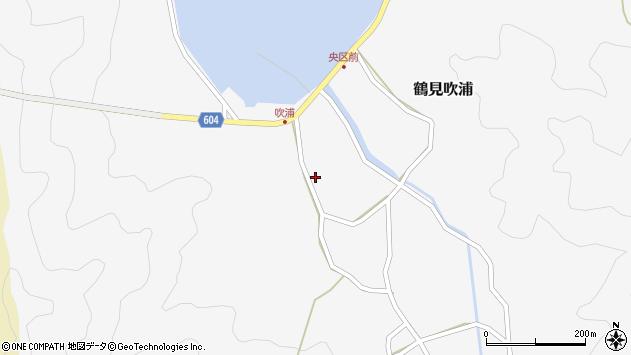 大分県佐伯市鶴見大字吹浦139周辺の地図
