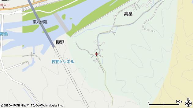 大分県佐伯市稲垣856周辺の地図