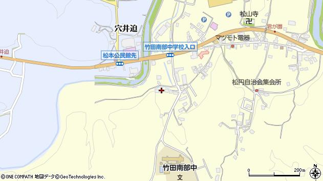 大分県竹田市君ケ園751周辺の地図