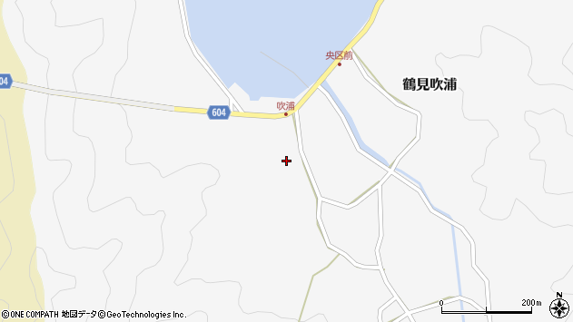 大分県佐伯市鶴見大字吹浦156周辺の地図