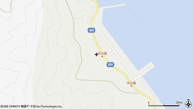 大分県佐伯市鶴見大字地松浦89周辺の地図