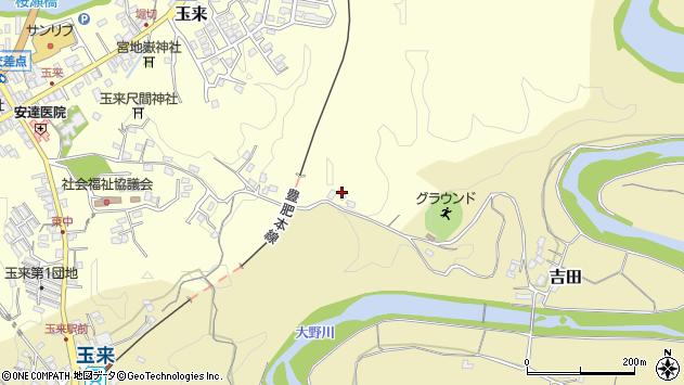 大分県竹田市玉来491周辺の地図
