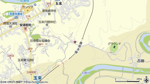 大分県竹田市玉来512周辺の地図