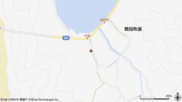 大分県佐伯市鶴見大字吹浦155周辺の地図