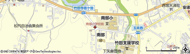 大分県竹田市君ケ園1033周辺の地図