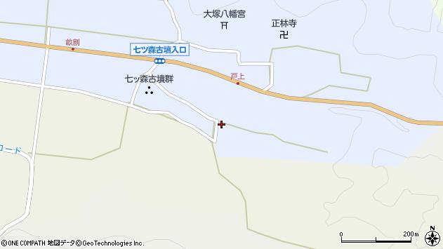大分県竹田市戸上192周辺の地図