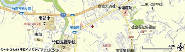 大分県竹田市玉来1033周辺の地図