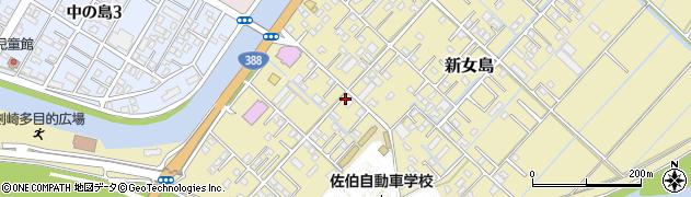 大分県佐伯市6802周辺の地図