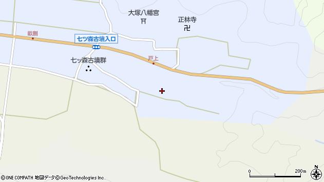 大分県竹田市戸上189周辺の地図