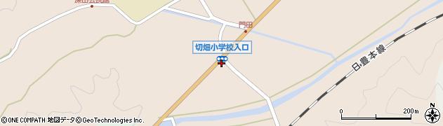 大分県佐伯市弥生大字門田763周辺の地図