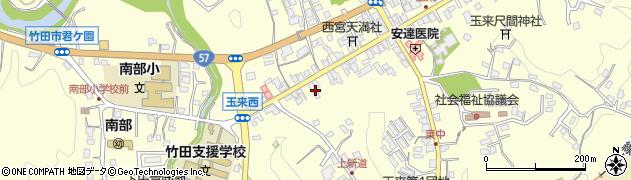 大分県竹田市玉来1027周辺の地図