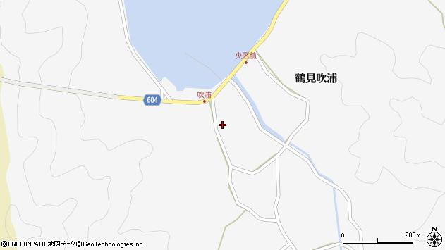 大分県佐伯市鶴見大字吹浦151周辺の地図